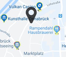 Karte KHG Osnabrück, Lohstraße 16