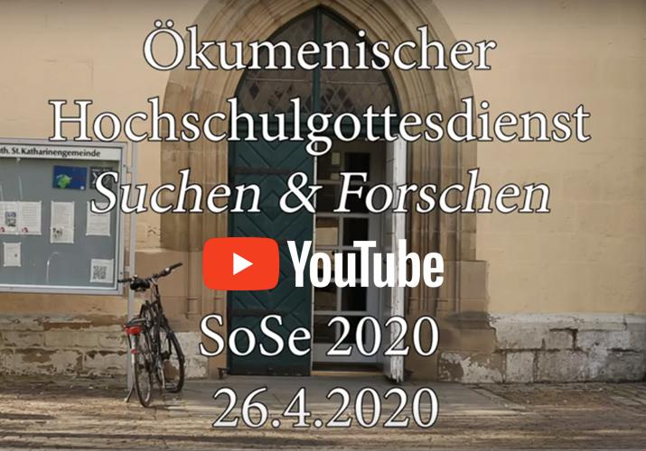 KHG Osnabrück: Ökumenischer Hochschulgottesdienst